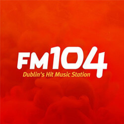 FM104 logo