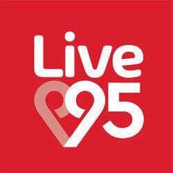 Live 95 logo
